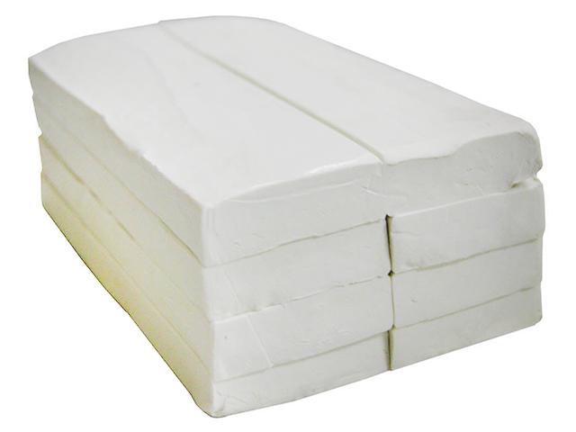 Пластилин KOH-I-NOOR, белый, мягкий, 1 кг
