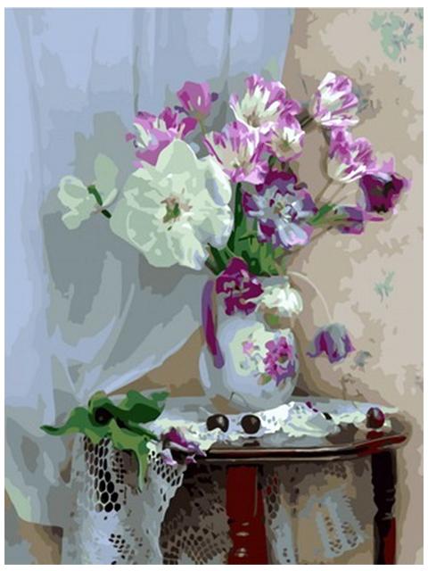 """Картина по номерам Colibri """"Цветы в вазе"""" 40*50см"""