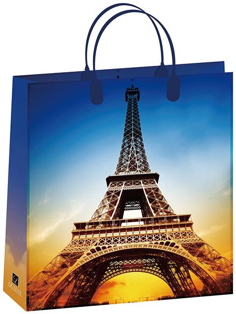 "Пакет подарочный пластиковый 32х42+10 LE SIAN ""Париж"" [4631136237358]"