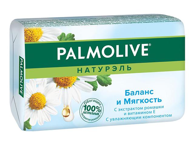"""Мыло туалетное Palmolive """"Баланс и мягкость"""" с экстрактом ромашки 90г"""