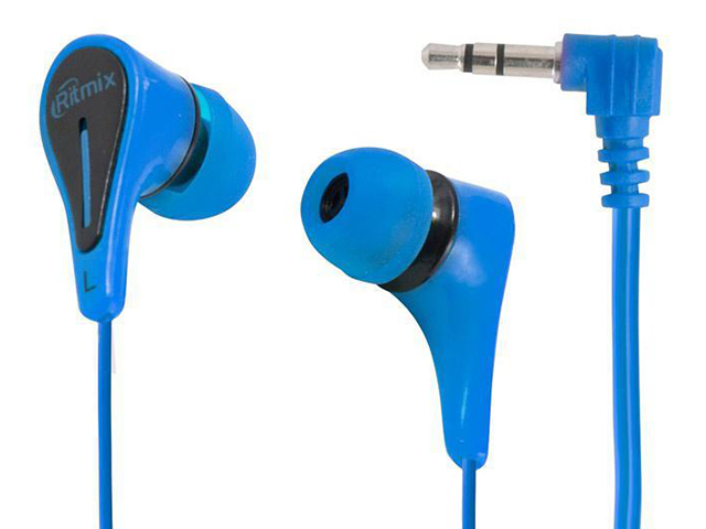 Наушники-вкладыши Ritmix RH-012 Blue