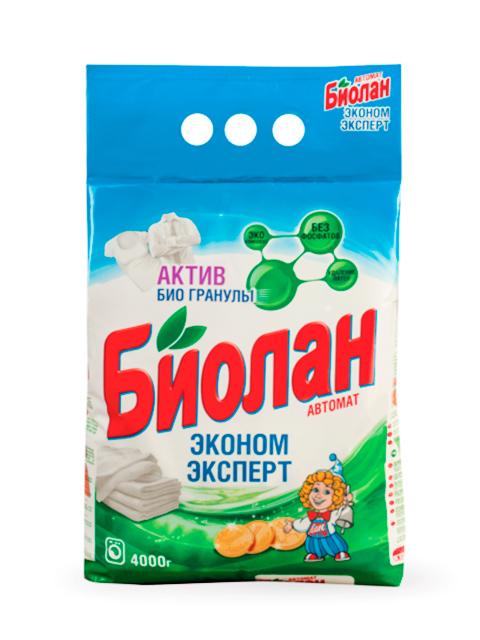 БИОЛАН СМС Порошок-автомат Эконом Эксперт 4кг