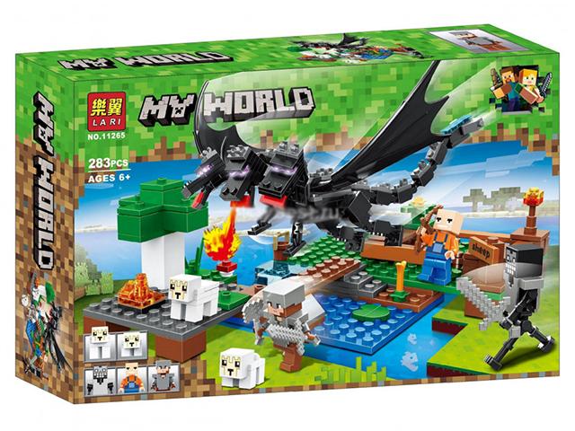 "Конструктор ""MY WORLD"" 283 детали в коробке"