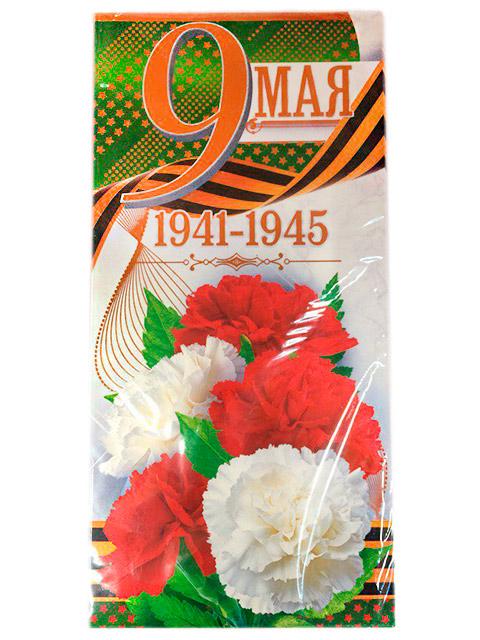 """Открытка А5 """"9 Мая"""" с конвертом, в ассортименте по штрих-коду 508"""