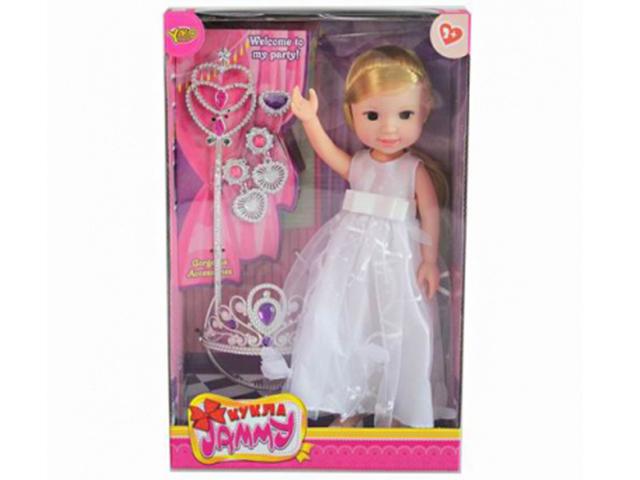 Кукла JAMMY-невеста, 32см, с аксессуарами, в коробке