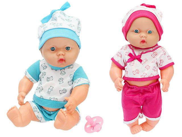 """Кукла Пупс """"Тоша"""" в костюмчике, звук, с аксессуаром"""