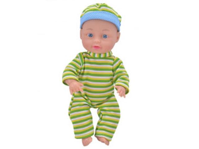 """Пупс """"Любимая кукла. Милый мальчик в пижаме-2"""" 25 см., в пакете"""