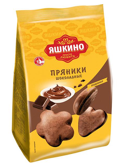 Пряники Яшкино шоколадные, 350 г