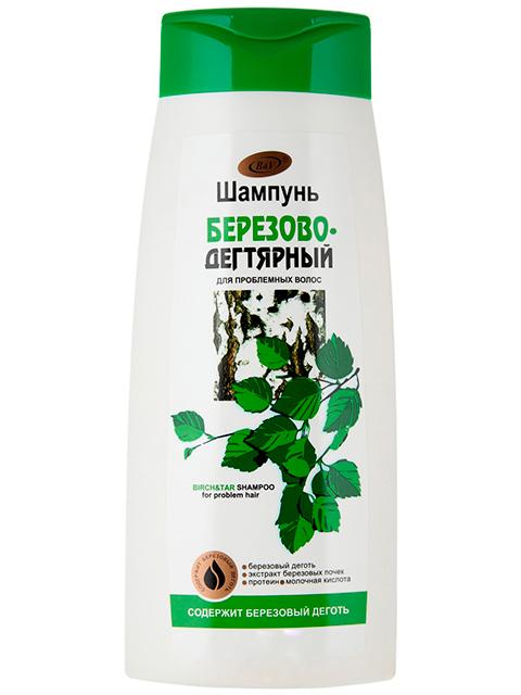 """Шампунь Bielita """"Березово-дегтярный"""" для проблемных волос 480 мл."""