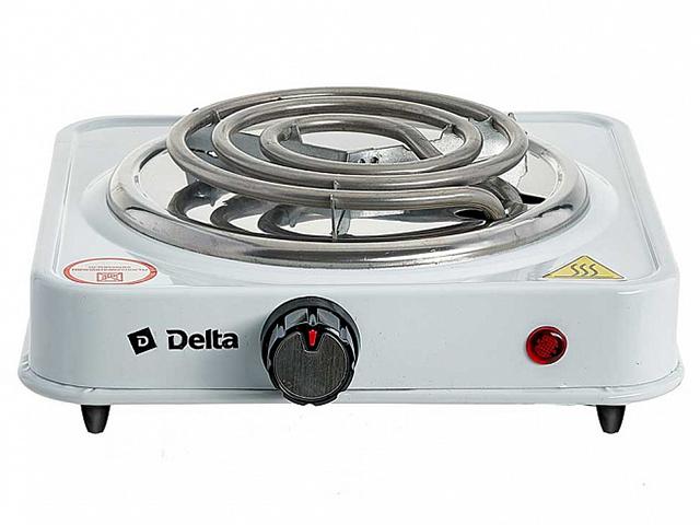 Электрическая плита 1- комф. DELTA D-703, белый