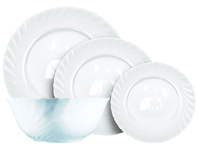 """Набор столовый """"Белый"""" 16 предметов"""