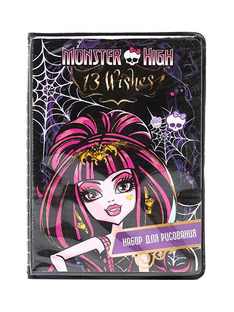 """Набор для рисования Centum """"Monster High"""" в пластик. пенале"""