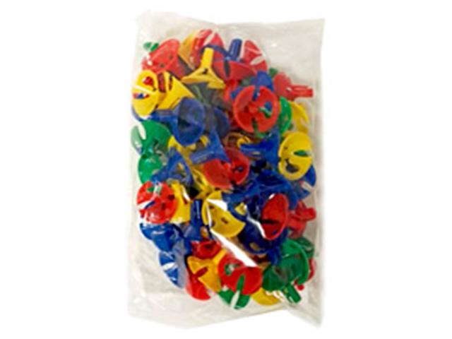 Розетка для шариков Универсальная Цветная 100шт. в упак.
