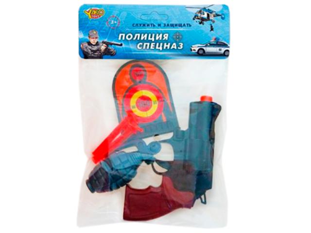 "Игрушечное оружие набор ""Полиция. Спецназ"" 3 предмета + 3 патрона в комплекте, в пакете"