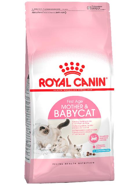 Корм РК Мазер энд Бэбикэт 0,4кг (для беременных и кормящих кошек, котят от 1 до 4 месяцев)