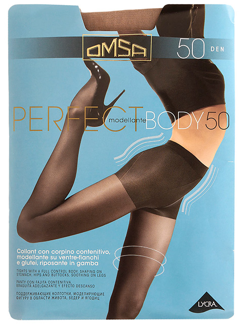 """Колготки женские Omsa """"Perfect Body 50"""" Daino 4-L"""