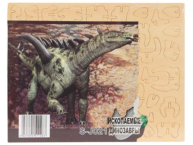 """Сборная модель из дерева """"Гигантспинозавр"""""""