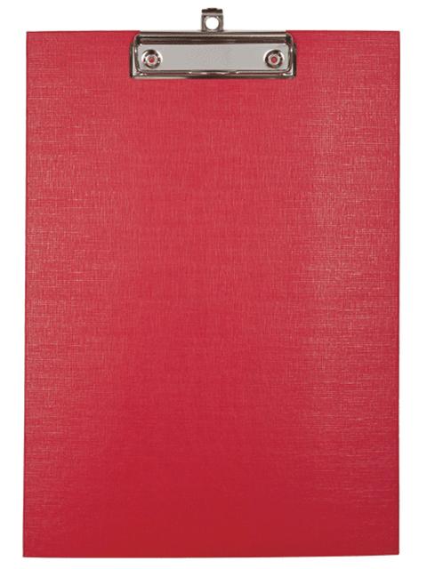 Планшет с зажимом А4 deVENTE, красный, ПВХ (клипборд)