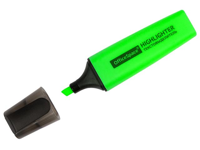 """Текстовыделитель """"OfficeSpace"""" 1-5 мм, зеленый"""