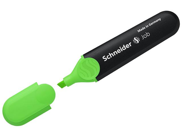 """Текстовыделитель Schneider """"Job"""" зеленый, 1-5 мм"""