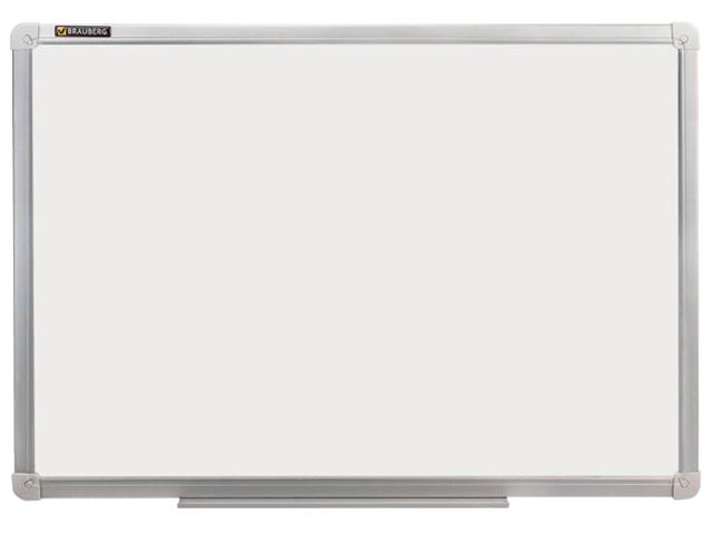Доска магнитно-маркерная BRAUBERG стандарт, 120х180 см, алюминиевая рамка