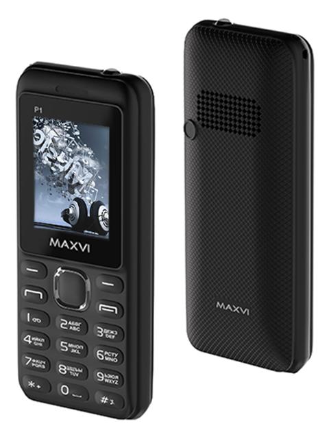 Мобильный телефон Maxvi Р1 Black-black
