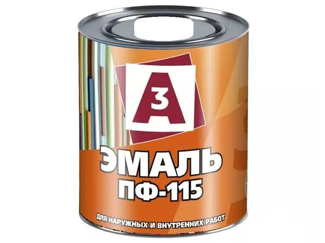 "Эмаль ПФ-115 ""А3"" 0,9кг, белый"