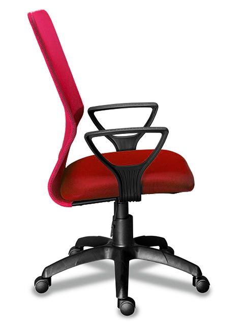 Кресло МГ 21 Гольф сетка (бордо)