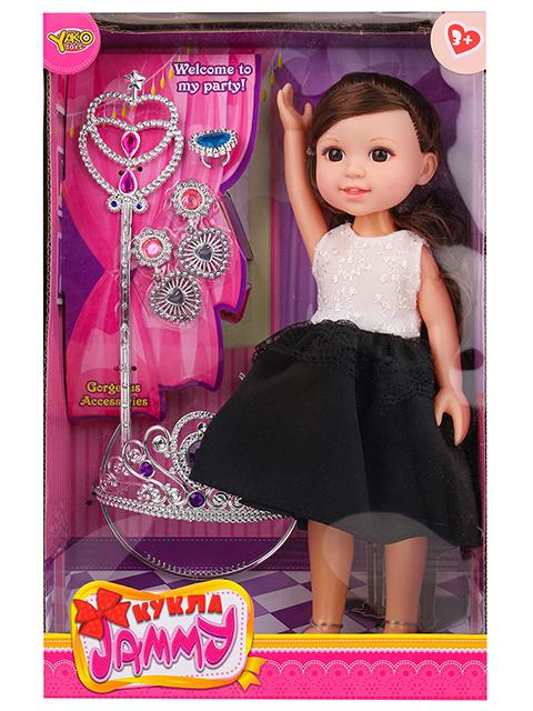 "Кукла ""JAMMY принцесса"", 32см, с аксессуарами, в коробке"