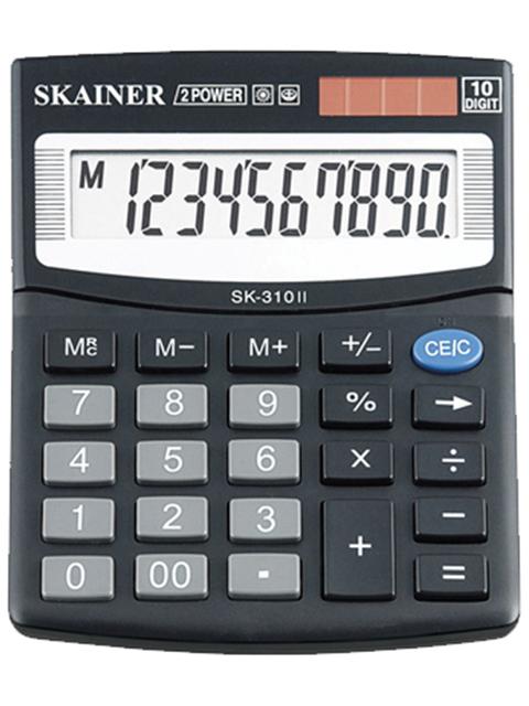 Калькулятор настольный SKAINER SK-310II 10 разрядный