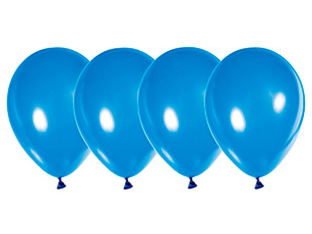 """Шар 12"""" стандарт синий 50 штук в упаковке"""