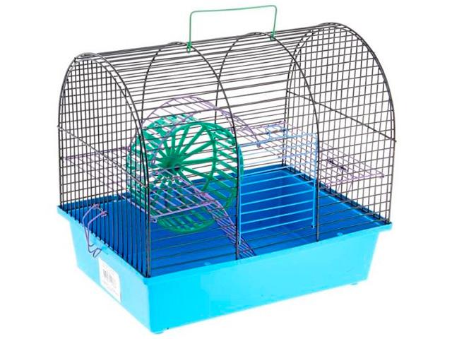 """Клетка для грызунов """"Венеция"""" 385х275х435 полукруглая"""