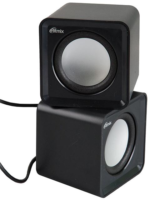 Акустическая система компьютерная Ritmix SP-2020, черная