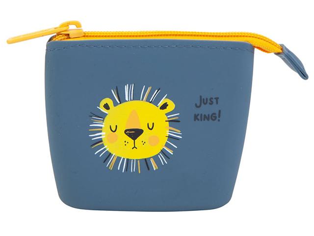 "Кошелек детский KITE ""Just king"" на молнии"