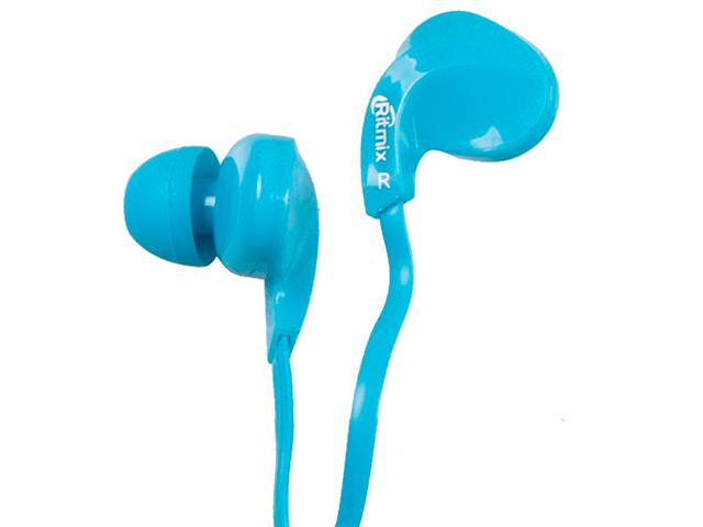 Наушники-вкладыши Ritmix RH-025 Blue
