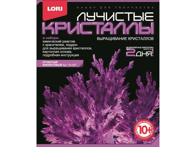 """Набор для творчества """"Выращивание кристаллов"""" (лучистый фиолетовый)"""