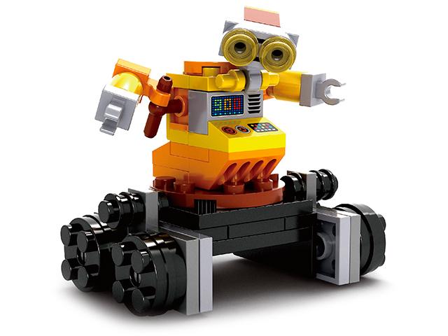 """Конструктор """"Робот Вилл-И"""" 55 деталей"""