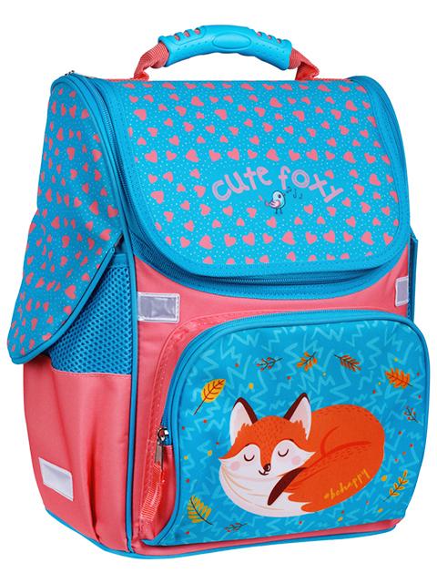 """Ранец школьный ArTSpace """"Junior. Foxy"""" 37х28х21 см, эргономичная спинка"""