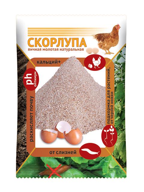 Скорлупа яичная 1,5кг ЦВ.ПАКЕТ
