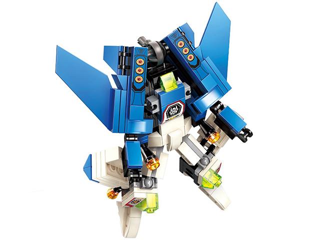 """Конструктор Qman """"Робот. Трансформер"""" 153 детали"""