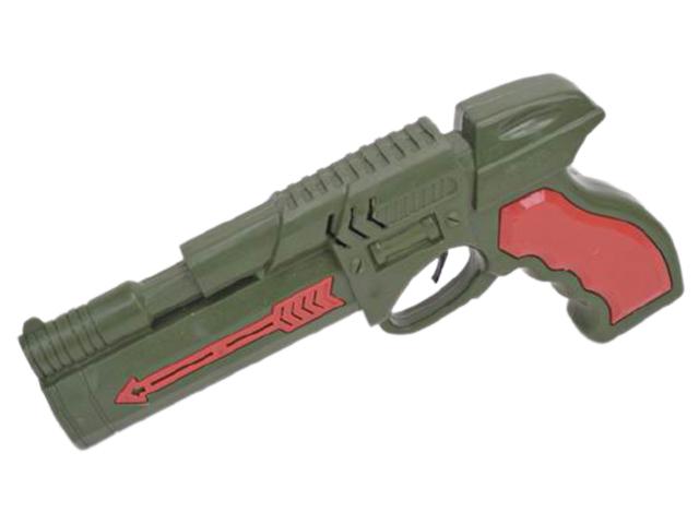 """Игрушечное оружие """"Пистолет-трещетка. Прицел №3"""" 21,5 см"""