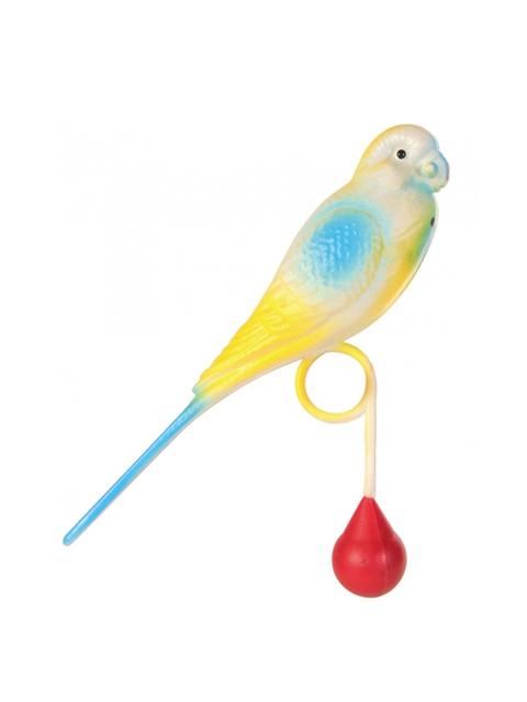 """Игрушка для птиц """"Попугайчик"""" 12,5см."""