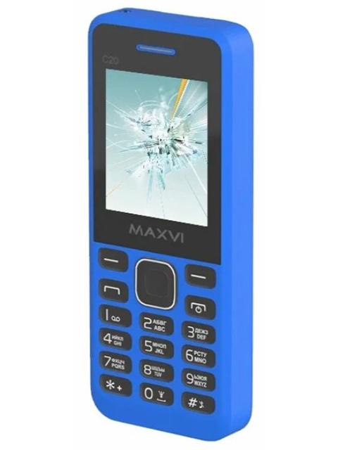 Мобильный телефон Maxvi С20 Blue