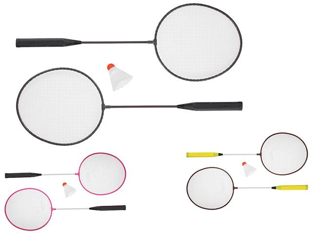 Бадминтон 2 ракетки+ волан, в сетке