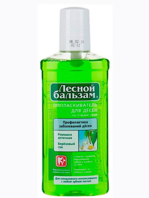 Ополаскиватель для десен Лесной бальзам Ромашка+Березовый сок, профилактика заболевания десен, 250мл