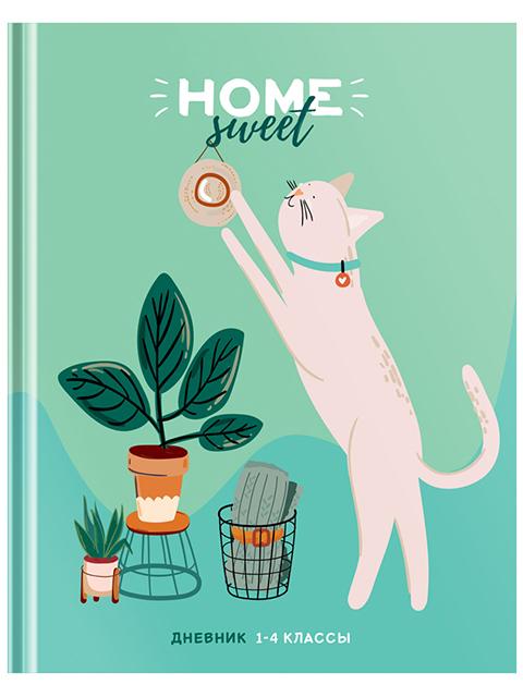 """Дневник для младших классов ArTSpace """"Рисунки. Sweet cat"""" твердый, матовая ламинация, выборочный лак"""