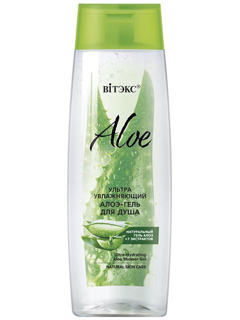 """Гель для душа Витэкс """"Aloe +7 Экстрактов"""" ультраувлажняющий, 400 мл"""