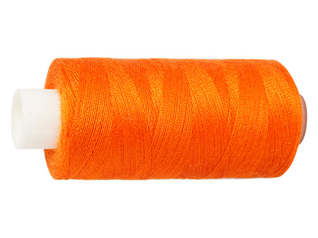 Нитки швейные Bestex, №40, 365м (218 темно-оранжевый)