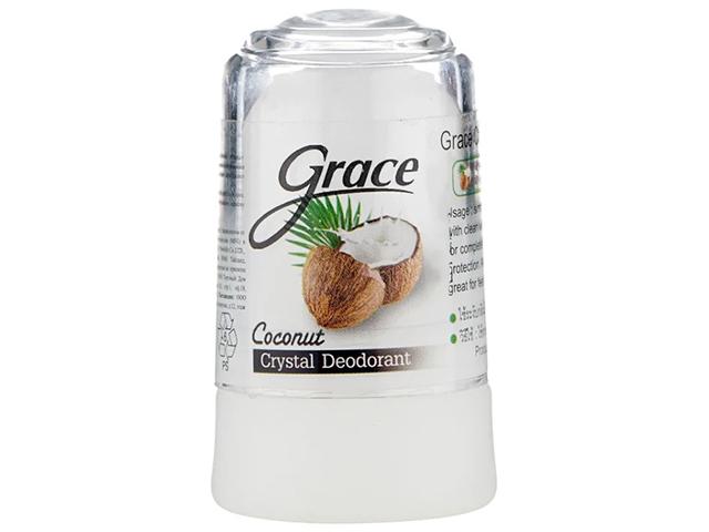 Дезодорант женский кристаллиеский с кокосом Grace Mineral 50г