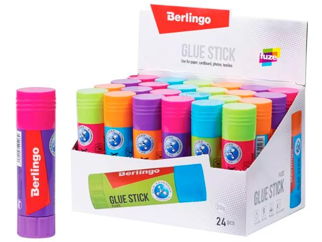 "Клей-карандаш Berlingo ""Fuze"" 20 гр"